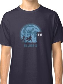 "Doctor Who ""Allons-y"" 10th Doctor Classic T-Shirt"