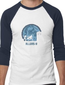"Doctor Who ""Allons-y"" 10th Doctor Men's Baseball ¾ T-Shirt"
