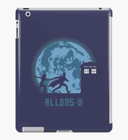 """Doctor Who """"Allons-y"""" 10th Doctor iPad Case/Skin"""
