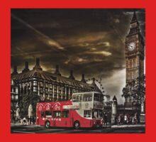 London Sightseeing Tours bus Baby Tee