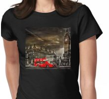London Sightseeing Tours bus Womens Fitted T-Shirt