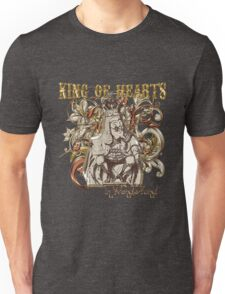 Alice In Wonderland King of Hearts Carnivale Style Unisex T-Shirt