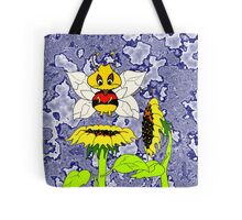 Buzzer the Bee Sunflower Yellow Tote Bag