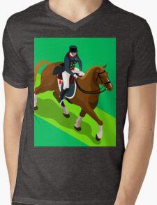 Equestrian Dressage 2016 Olympics Summer Games Mens V-Neck T-Shirt