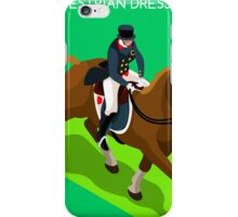 Equestrian Dressage 2016 Olympics Summer Games iPhone Case/Skin