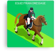 Equestrian Dressage 2016 Olympics Summer Games Metal Print