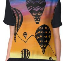 Sunrise of the Balloons Chiffon Top