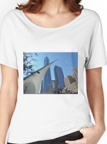 1WTC Women's Relaxed Fit T-Shirt