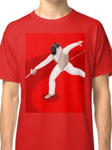 Fencing 2016 Olympics Summer Games Classic T-Shirt