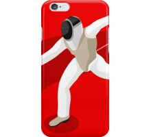 Fencing 2016 Olympics Summer Games iPhone Case/Skin
