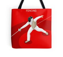 Fencing 2016 Olympics Summer Games Tote Bag