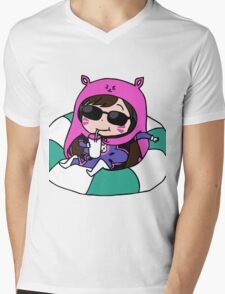 D.va x umaru Mens V-Neck T-Shirt