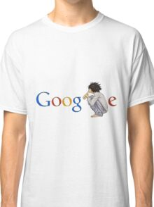 Google ( the L of google is replaced by L of death note ) Classic T-Shirt