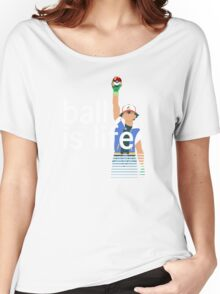 Pokeball Is Life Women's Relaxed Fit T-Shirt