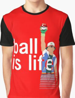 Pokeball Is Life Graphic T-Shirt
