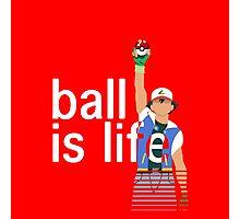 Pokeball Is Life Photographic Print