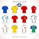 France EURO 2016 Apparel Icons by aurielaki