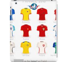 France EURO 2016 Apparel Icons iPad Case/Skin