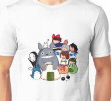 funny ghibli full colour Unisex T-Shirt