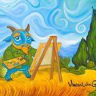 Vincent van Goat by Wil Zender