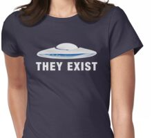 They Exist [Person of Interest] Womens Fitted T-Shirt