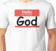 Hello God Unisex T-Shirt