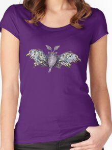cute bat by remi42 Women's Fitted Scoop T-Shirt