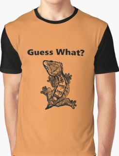 """Crested Gecko """"Guess What? Frog Butt"""" Graphic T-Shirt"""