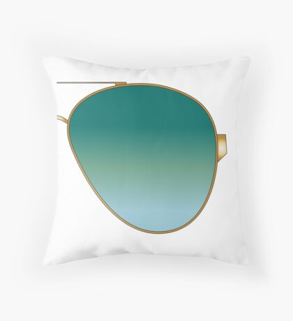 SHADES R Throw Pillow