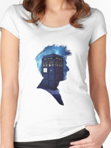 Doctor Who 10th Doctor Women's Fitted Scoop T-Shirt