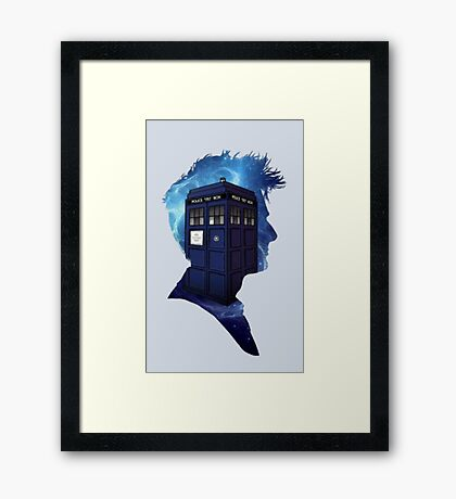 Doctor Who 10th Doctor Framed Print