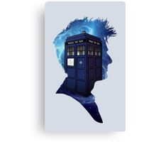 Doctor Who 10th Doctor Canvas Print