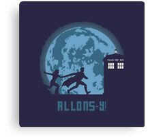 "Doctor Who ""Allons-y"" 10th Doctor Canvas Print"