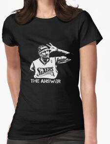 The Answer Womens Fitted T-Shirt