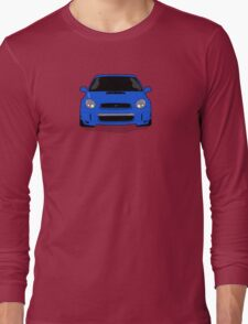 Blue WRX Vector Long Sleeve T-Shirt