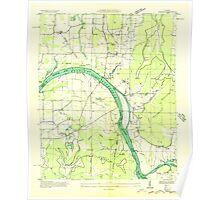 USGS TOPO Map Alabama AL Farley 303815 1936 24000 Poster