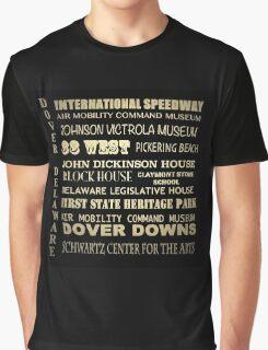 Dover Delaware Famous Landmarks Graphic T-Shirt