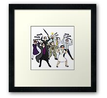 John, is it too late now to say sorry? Framed Print