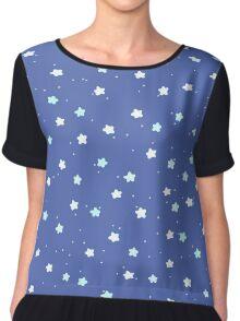 Starry Night pattern Chiffon Top