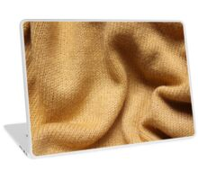 Yellow Knit Laptop Skin