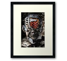 Earth Personality Affliction Framed Print