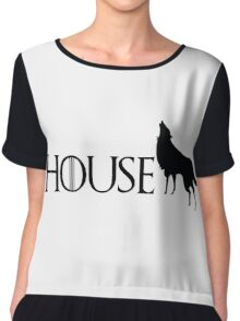 Game of Thrones - Stark Chiffon Top