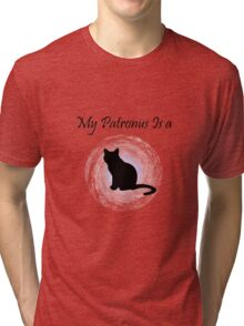 Harry Potter Cat Patronus Tri-blend T-Shirt