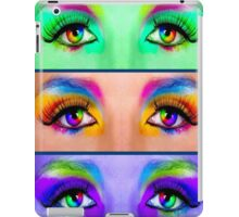 """EYES TELL it ALL"" Art Deco Print iPad Case/Skin"
