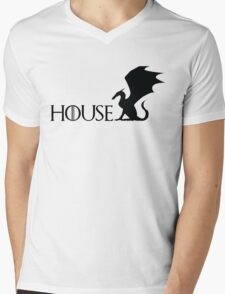 Game of Thrones - Targaryen Mens V-Neck T-Shirt