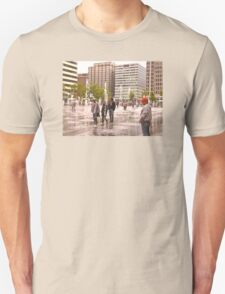 Dilworth Park Water Feature  Philadelphia PA Unisex T-Shirt