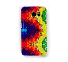 Psychedelic Abstract colourful work S7(Tile) Samsung Galaxy Case/Skin
