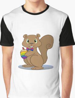 Pride Squirrel Graphic T-Shirt