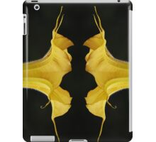 Angel Trumpet Mirror Image iPad Case/Skin