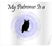 My Patronus is a owl Poster